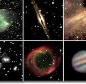 ستاره شناسی در آسمان با چشم غیر مسلح چگونه امکان پذیر است ؟