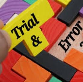 آزمایش و خطا یکی از روش های متداول یادگیری !