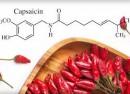 کپسایسین عامل اصلی سوزش زبان با مصرف فلفل !