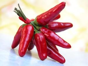 فلفل قرمز طعم دهنده ای قوی برای انواع غذا ها