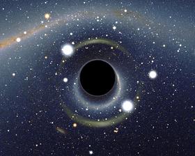 سیاه چاله هایی که اجازه گریز به نور را نمی دهند