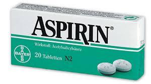 آسپرین دارویی برای درمان بیماری سکته ی مغزی