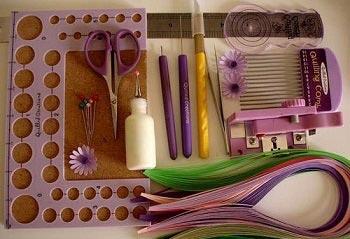آشنایی با کوئیلینگ و ابزار مورد نیاز در ملیله کاغذی