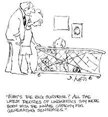 چامسکی نظریه ای بر پایه اصول واقعی زبان شناسی !