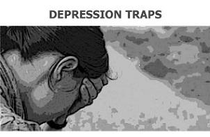 تله های افسردگی و روش های مقابله با آن کدامند ؟