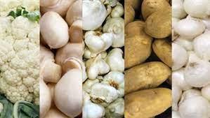 سبزیجات سفید به همراه معرفی لیستی از پرخاصیت ها